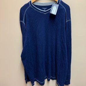 NWT Roundtree & Yorke navy shirt 2XLT  shirt
